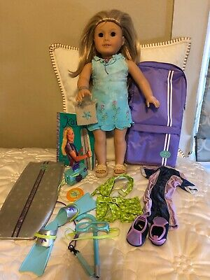 American girl doll of the year Kailey Hopkins With Scuba Diving Kit Book Suit