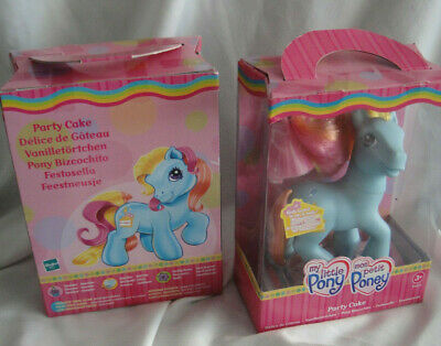 My Little Pony G3 OVP 25th Birthday Anniversary Scented Duftpony Party Cake