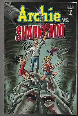 Archie Vs Sharknado #1 Cover A Signed By Dan Parent VF