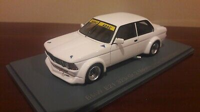 Unique modele BMW E21 323i Gr. 2- Plain body white - 1/43 Neo
