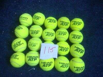 20 Tennis Balls Head used indoors only