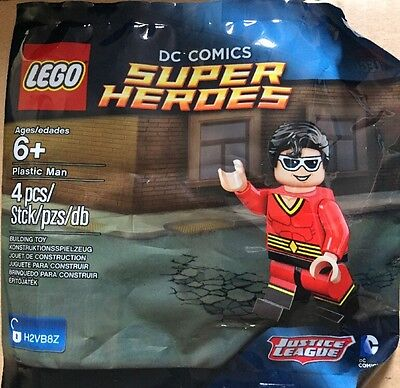 Lego DC Super Heroes Mini Figure brand new polybag sealed rare Justice League