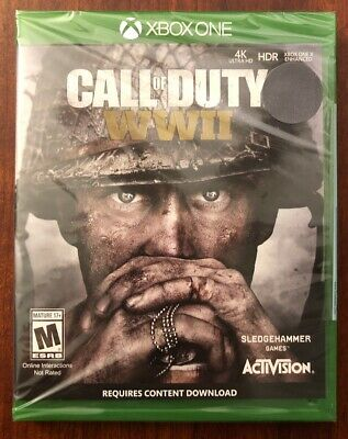 Call of Duty: WWII (Xbox One) - NEW! - FAST SHIPPING!