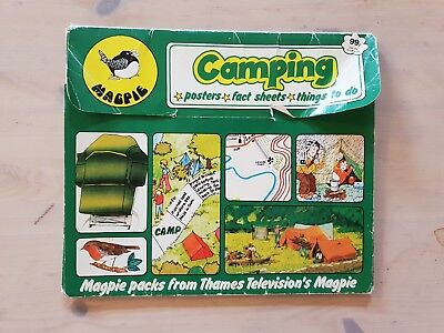 Magpie TV Show Camping Pack Thamas Television Poster Collectable Memorabilia
