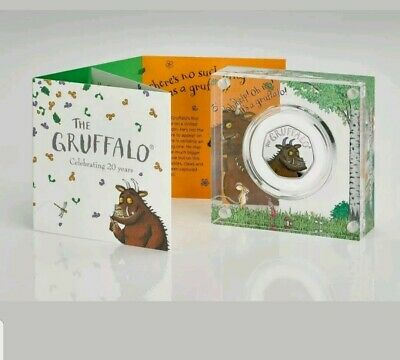 2019 The Gruffalo silver proof 50p The royal mint coin limited edition with COA