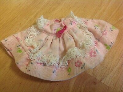 Small Pink Vogue Dolls Dress - Tagged