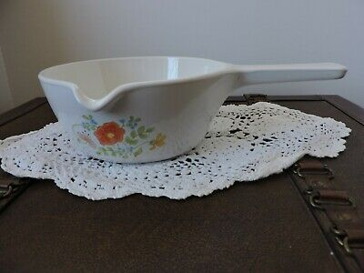 Corning Ware Wildflower Spouted Saucepan P-89-B ~ 2 1/2 cups