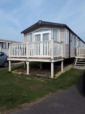 immaculate family owned 8 berth 3 bed caravan to let at Haven Blue Dolphin park,