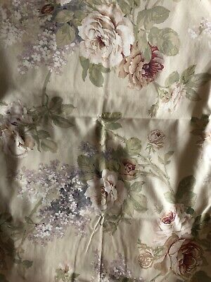 Sanderson SorillaKing size duvet cover + 4 oxford p/c-used Condition