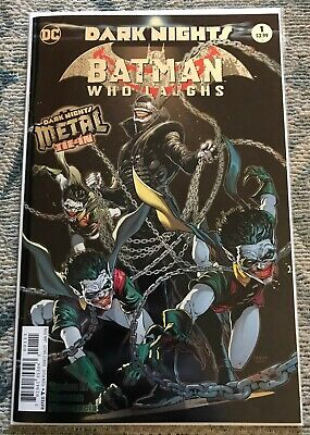 Batman Who Laughs #1 First Print Dark Knights Metal Fabok Joker