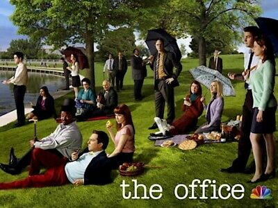 NBC THE OFFICE TV SHOW APOLOGIES TO SEURAT CAST POSTER 36x24 NEW FREE SHIPPING