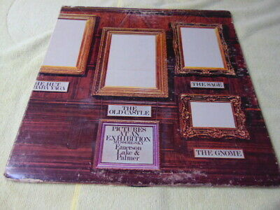 """Emerson, Lake & Palmer – """"Pictures At An Exhibition"""" - 1972 Classic Rock LP"""