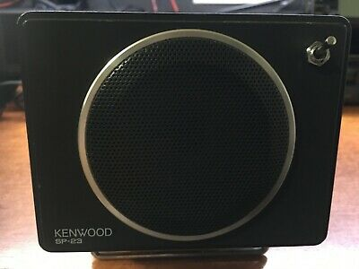Ham Radio Kenwood External Speaker-Sp 23