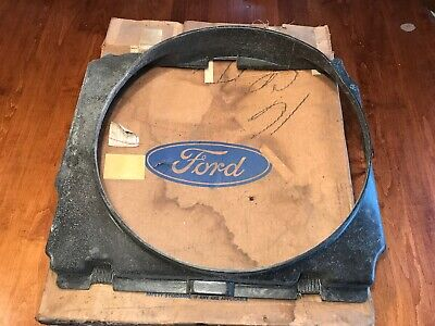 NOS 1971 - 1972 - 1973 Ford MUSTANG Radiator Fan Shroud 302 & 351 with A/C D1ZZ