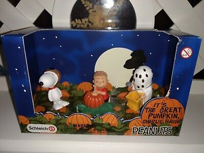 Schleich Peanuts Scenery Pack//Halloween 22015 Linus+Snoopy+Snoopy`s Geschwister