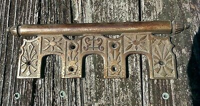Architectural Salvaged Pedal Plate from an Antique Wegman Upright Piano