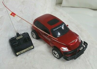 Radio Controlled 11 Red Pt Cruiser Car New Bright 6 0v Battery Pack Charger