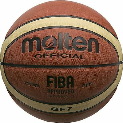 Molten Basketball  GF7 Official FIBA Indoor Composite, Size 7