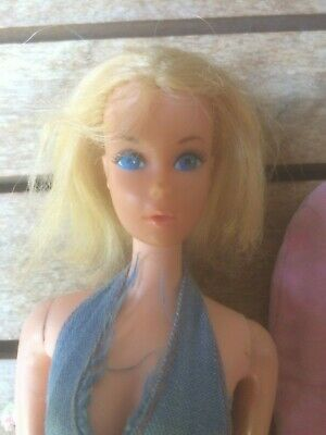 1966 Barbie Doll, Vintage Face, Fair Hair & Clothes