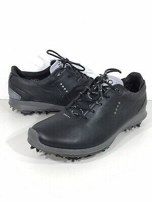 721dccb7ee10 Ecco Biom G2 GTX Men s Size 9 Black Yak Leather Hydromax Golf Shoes X19-352