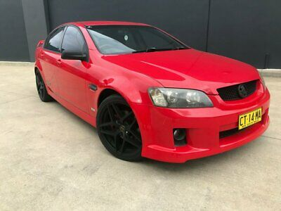 2006 Holden Commodore VE SS V Sedan 4dr Spts Auto 6sp 6.0i [Aug] Red Automatic