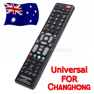 Universal Changhong TV Remote Control Replacement | 3D LCD LED HDTV HD TV AU