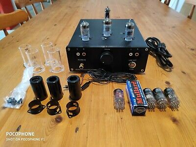 Little Bear T11 Vacuum Tube MM Phono Turntable Preamplifier + Tube Upgrades