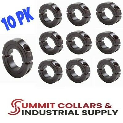 "3/"" DOUBLE SPLIT STEEL SHAFT COLLAR BLACK OXIDE  SC300D 2C-300 1"