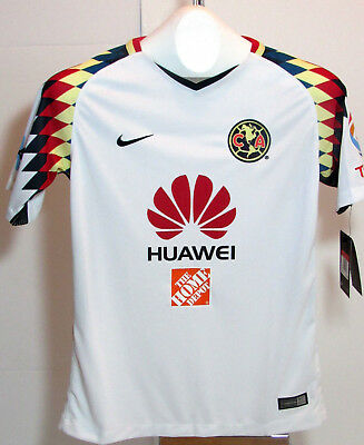 e77ba5148 Youth Nike Club America 2017-2018 White Jersey. Size Youth Large. MSRP  75