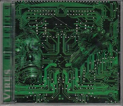 VIRUS Bio-Level 4 CD  Canadian Industrial Metal 1996 NIN Fear Factory