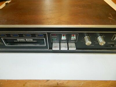 Channel Master Model 6326 - 8 Track Player