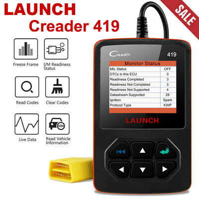 Car Auto OBD2 Diagnostic Scanner Engine Fault OBDII Code Reader Scan Tool CR419