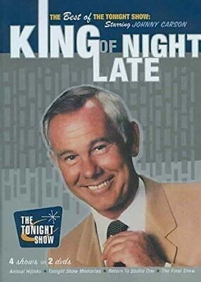 *NEW* Best of The Tonight Show Johnny Carson King of Late Night *DISC 1 ONLY*