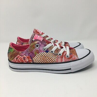 4780660ed403 Converse Chuck Taylor All Star 553298F Digital Floral Women s Shoes Size 5