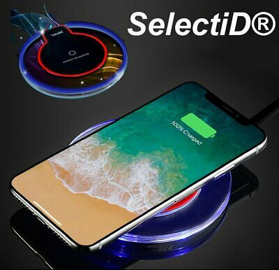 1b7ec4bd8ec Qi Fast Wireless Charger Charging For Samsung Galaxy S10 S9 S8 Plus Note 9