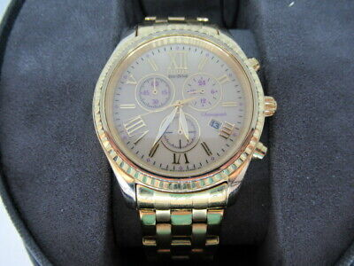 Gold Colored Citizen Eco-Drive H504 Womens Watch