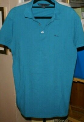 e5eea929f92 Marc By Marc Jacobs Men Polo Shirt Forest Green Size M 100% Cotton