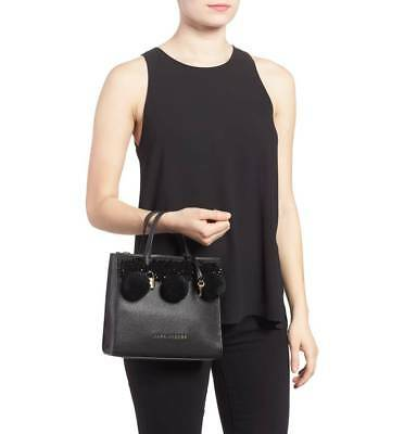 Marc Jacobs The Grind Sexy Key Pompom Logo Mini Shoulder Tote I Love Shoes