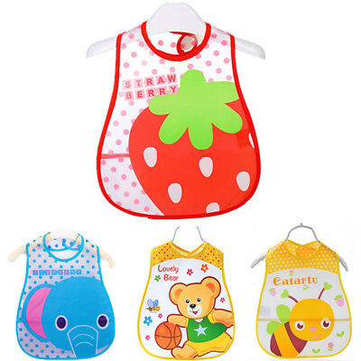 Baby Boy Girl Bibs Waterproof Saliva Towel Kids Cartoon Bib Feeding Bandana