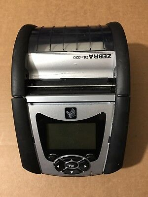 "Zebra QLn320 QN3-AUNAEE10-00 WLAN WIFI  3"" Thermal Receipt Mobile Printer"