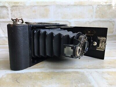 Kodak Number 2A Folding Autographic Brownie Camera - Made In Usa