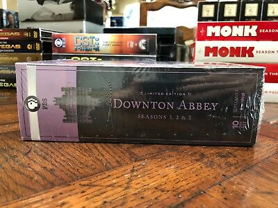 Downtown Abbey - Seasons 1 through 3 - DVD Set - SEALED