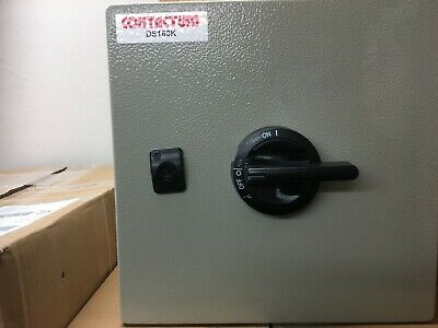 Contactum 160A TP&N ISOLATOR SWITCH