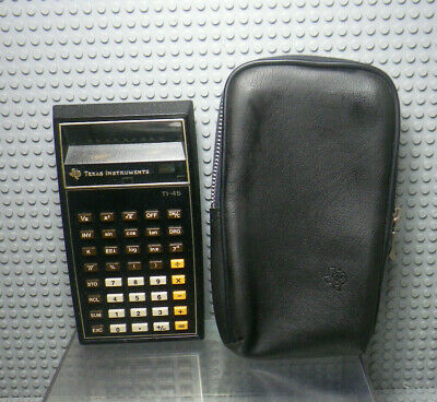Texas Instruments TI-45 - Calculatrice Calculator Vintage