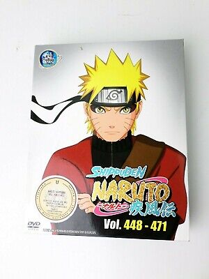 Anime Naruto Shippuden Vol.TV 448 - 471 Box 14 DVD Box Set