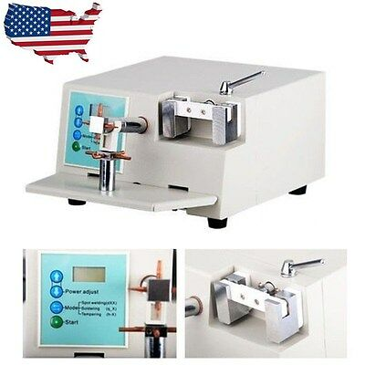 2000W Dental Spot Welder HL-WDII Orthodontic Material Welding Heat Treatment USA