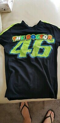 Valentino Rossi Moto Gp T Shirt New Large