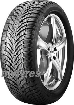 2x WINTER TYRES Michelin Alpin A4 165/70 R14 81T BSW M+S