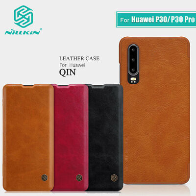 For Huawei P30/P30 Pro Original NILLKIN Qin Leather Wallet Flip Case Cover Shell