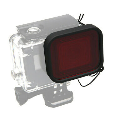 RED Diving Filter Lens Covers For GoPro Hero 7/6/5 Black Waterproof Housing Case